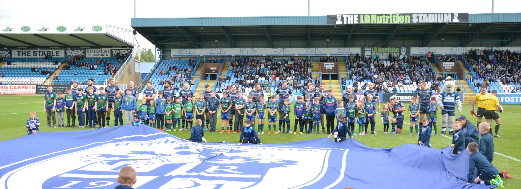Volunteer Featherstone Rovers Foundation Community/ Match Day Activities Banner