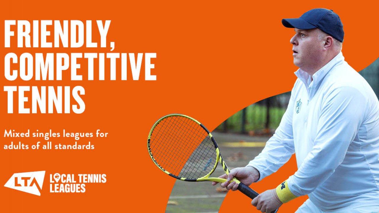 Local Tennis Leagues Banner